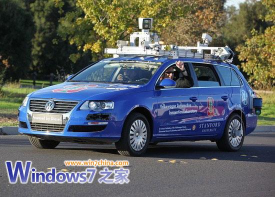 无人驾驶汽车是谷歌下一个希望高清图片